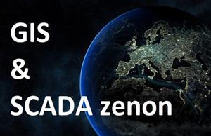 SCADA zenon тепер з GIS-функціоналом