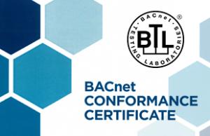 SCADA zenon отримала сертифікат BACnet