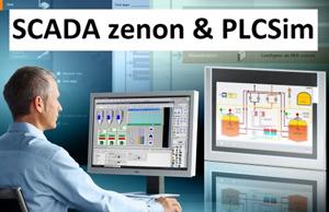 З'єднання SCADA zenon Runtime з симулятором Siemens SIMATIC PLCSim